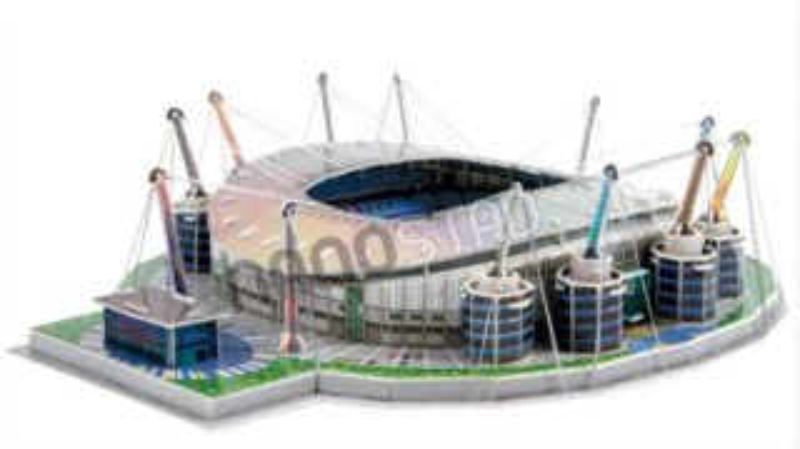 NANOSTAD 3D puzzle Stadion Etihad - FC Manchester City