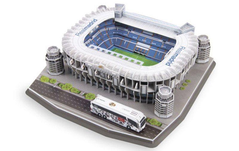3D puzzle Stadion Santiago Bernabéu - FC Real Madrid