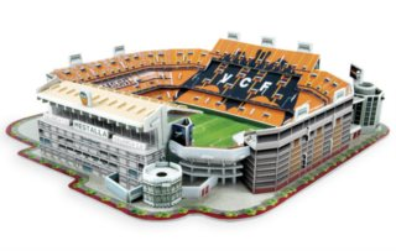 3D puzzle Mestalla - Valencia CF