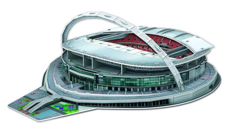 poškozený obal: 3D puzzle Stadion Wembley