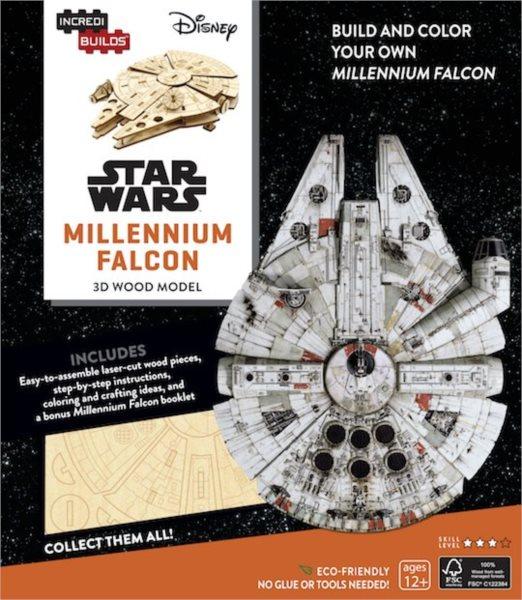 INCREDIBUILDS 3D puzzle Star Wars: Millenium Falcon 61 dílků