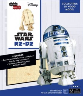 INCREDIBUILDS 3D puzzle Star Wars: R2-D2 81 dílků