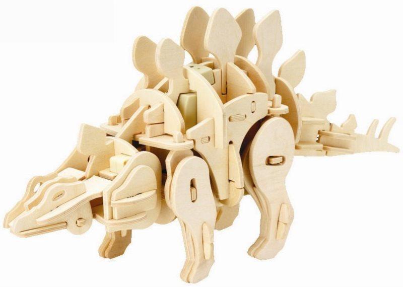 ROBOTIME 3D puzzle Stegosaurus chodící