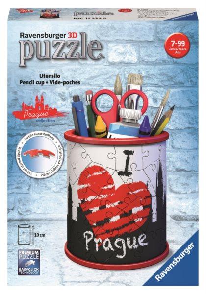 RAVENSBURGER 3D puzzle stojan: Praha 54 dílků