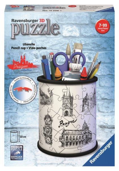 RAVENSBURGER 3D puzzle stojan: Pražské památky 54 dílků