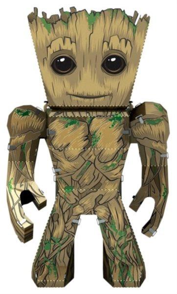 METAL EARTH 3D puzzle Strážci Galaxie: Groot
