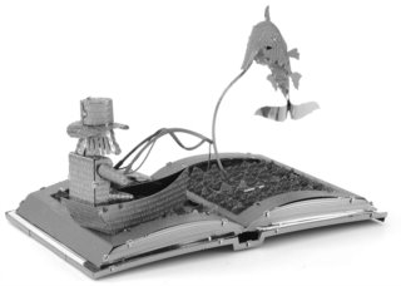 METAL EARTH 3D puzzle Kniha: Stařec a moře