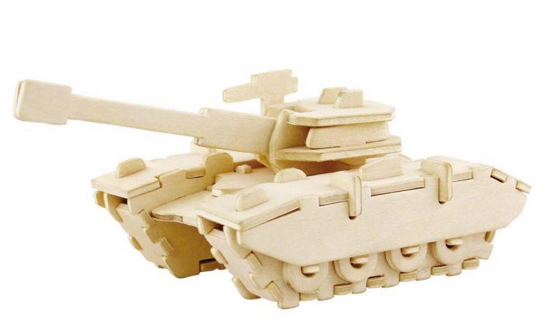 ROBOTIME 3D puzzle Tank