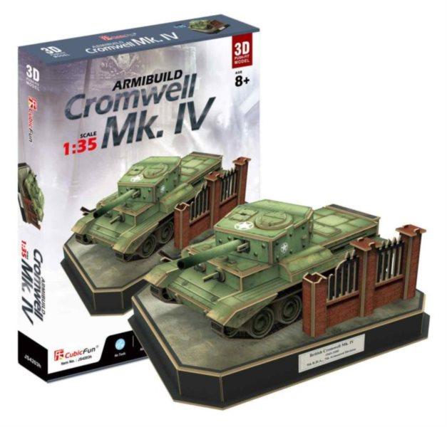 CUBICFUN 3D puzzle Tank Cromwell Mk. IV 157 dílků
