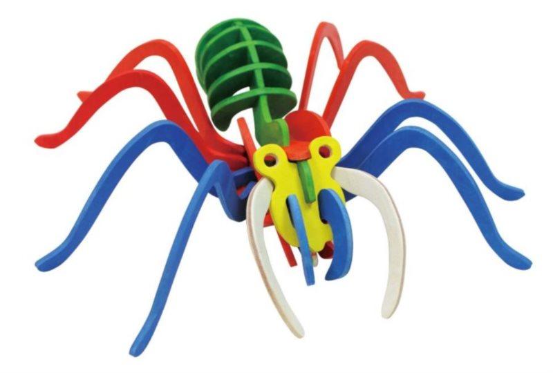 ROBOTIME 3D puzzle Tarantule s barvičkami