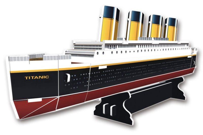 CUBICFUN 3D puzzle Titanic 30 dílků