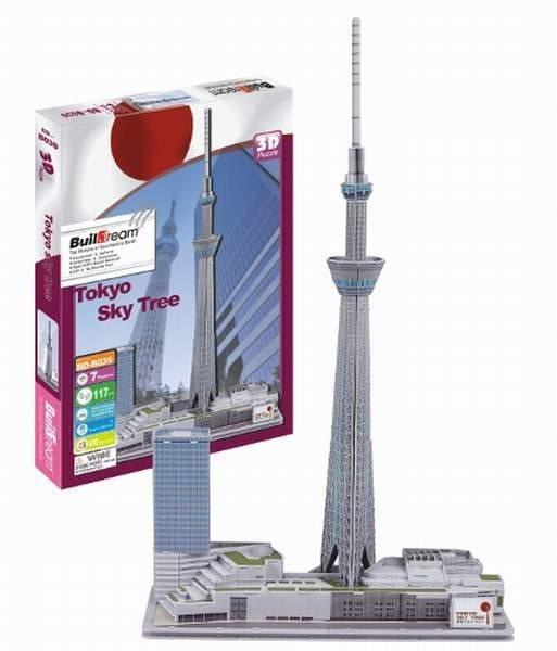 3D puzzle BUILDREAM - Tokyo Sky Tree
