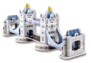 CUBICFUN 3D puzzle Tower Bridge 32 dílků