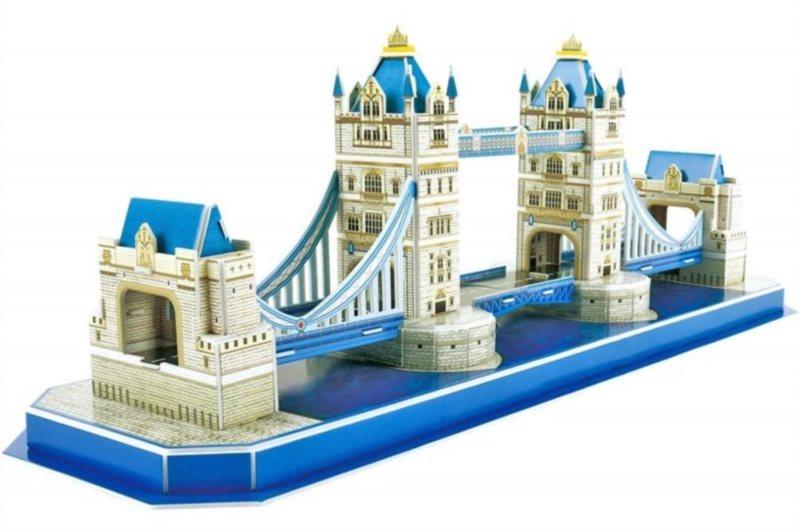 CUBICFUN 3D puzzle Tower Bridge 52 dílků