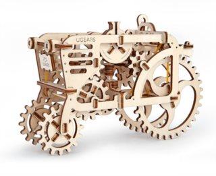 UGEARS 3D puzzle Traktor 97 dílků
