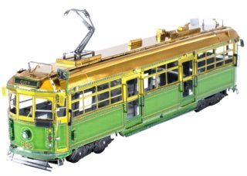 METAL EARTH 3D puzzle Tramvaj W-Class