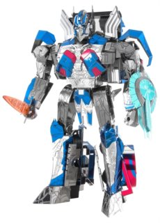 METAL EARTH 3D puzzle Transformers: Optimus Prime (ICONX)