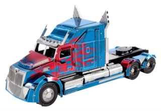 METAL EARTH 3D puzzle Transformers: Optimus Prime Western Star 5700 Truck (ICONX)