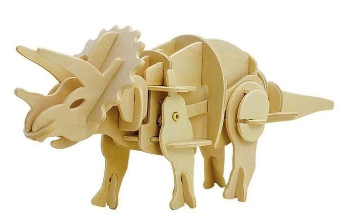 ROBOTIME 3D puzzle Triceratops chodící