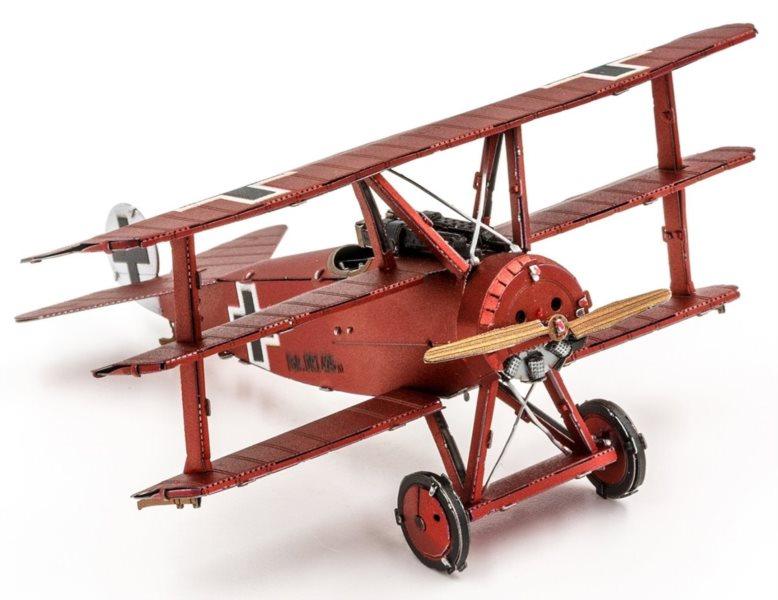 METAL EARTH 3D puzzle Trojplošník Fokker Dr. I