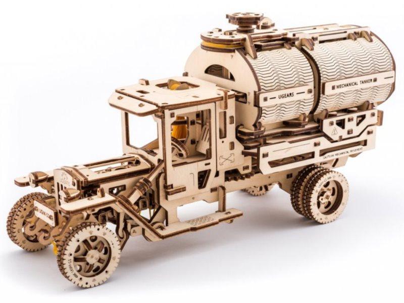 UGEARS 3D puzzle Truck UGM-11 Tanker 594 dílků