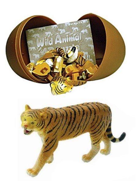 3D puzzle Tygr v krabičce