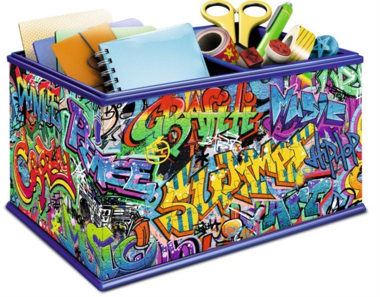 RAVENSBURGER 3D puzzle úložný box: Graffiti 216 dílků