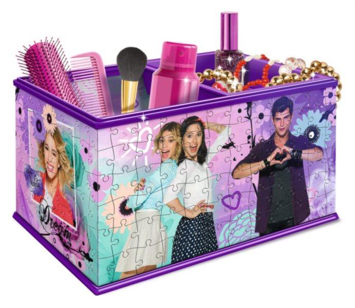 RAVENSBURGER 3D puzzle úložný box: Violetta 216 dílků