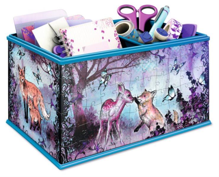 RAVENSBURGER 3D puzzle úložný box: Zvířátka 216 dílků