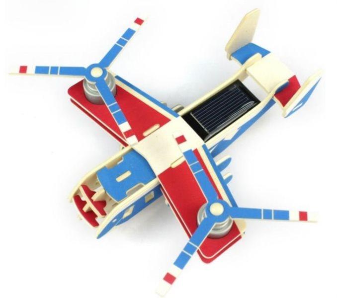 ROBOTIME 3D puzzle Vojenské letadlo V22 solární barevné