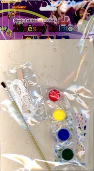 ARTLOVER 3D puzzle Závěsný kolotoč: Rybičky
