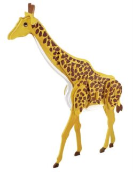 ROBOTIME 3D puzzle Žirafa s barvičkami