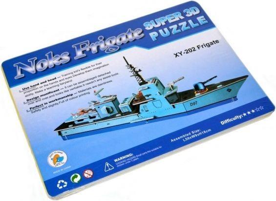 3D puzzle - Válečná loď Noks Frigate 3D