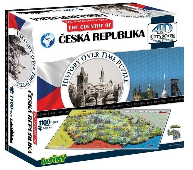 4D Cityscape 4D puzzle Česká republika