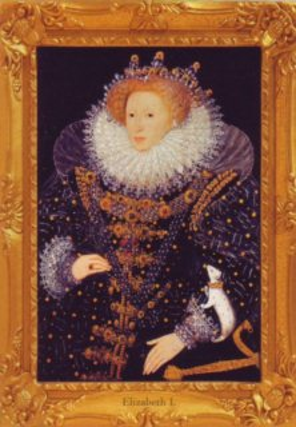 HEYE Puzzle Alžběta I. 1000 dílků