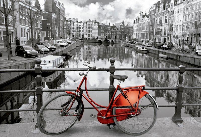 EDUCA 16018 Amsterdam - puzzle 3000 dílků