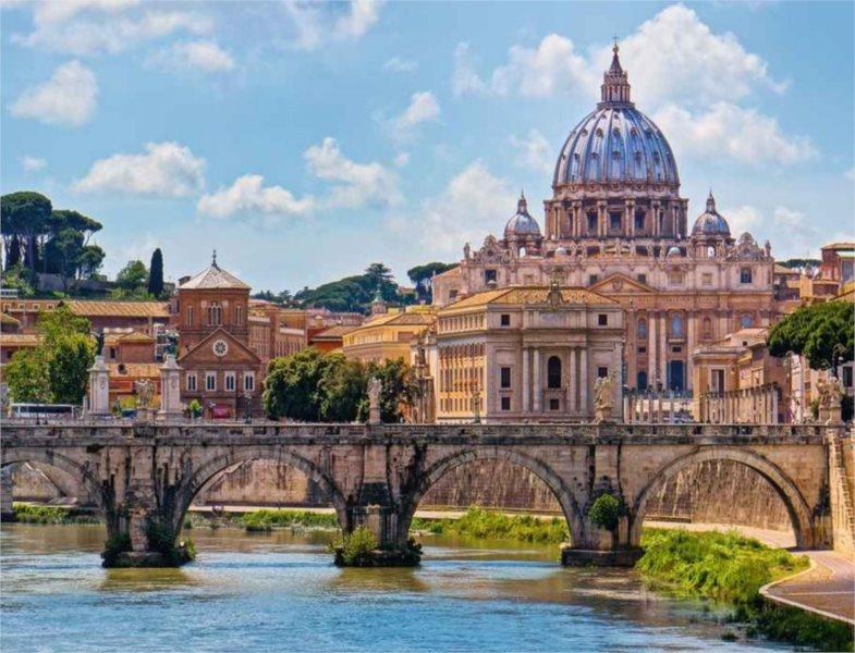 RAVENSBURGER 16686 - Andělský most, Řím, puzzle 2000 dílků