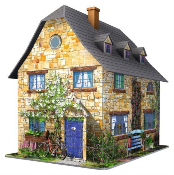 3D puzzle RAVENSBURGER 216 dílků - Anglický domek 3D