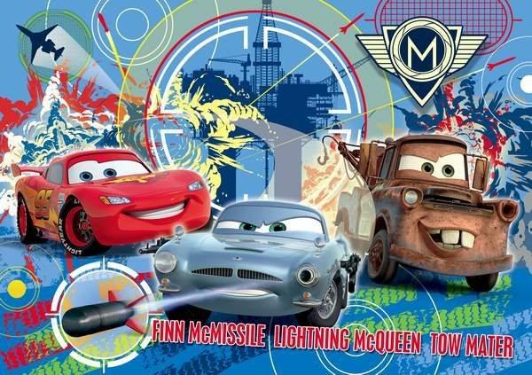 Dětské puzzle 250 dílků - Auta 2 (Cars 2)