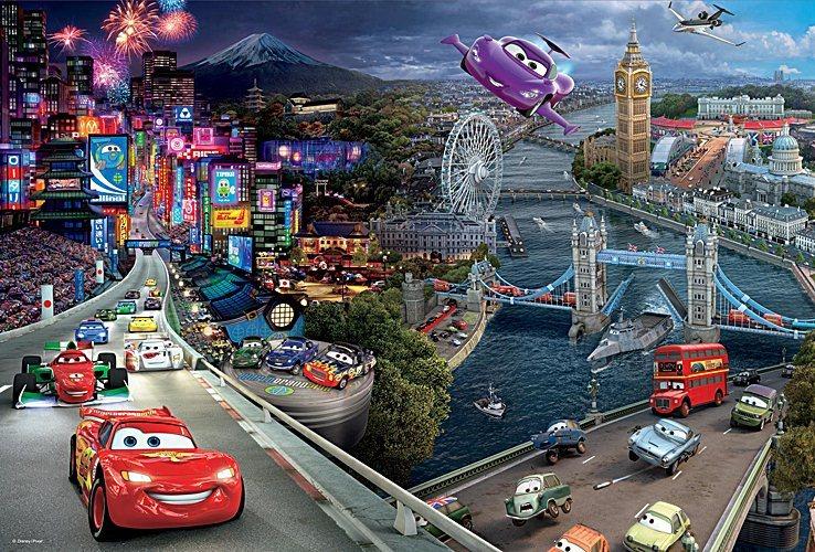 Puzzle pro děti TREFL 160 dílků - Auta (Cars)