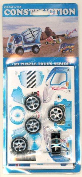 3D puzzle - Auto 07 Truck