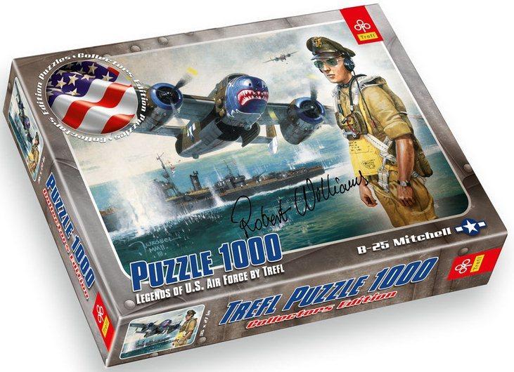 TREFL Puzzle B-25 Mitchell 1000 dílků