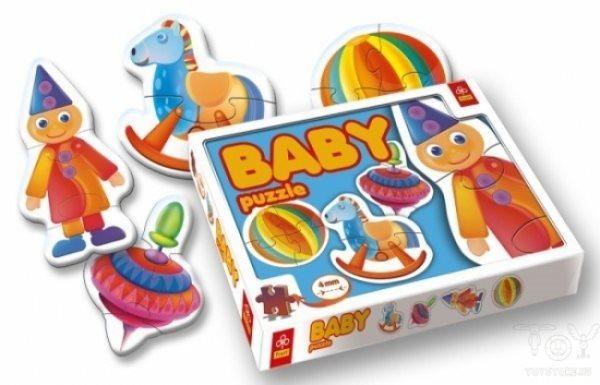 TREFL Baby puzzle Hračky 4v1 (2-4 dílky)