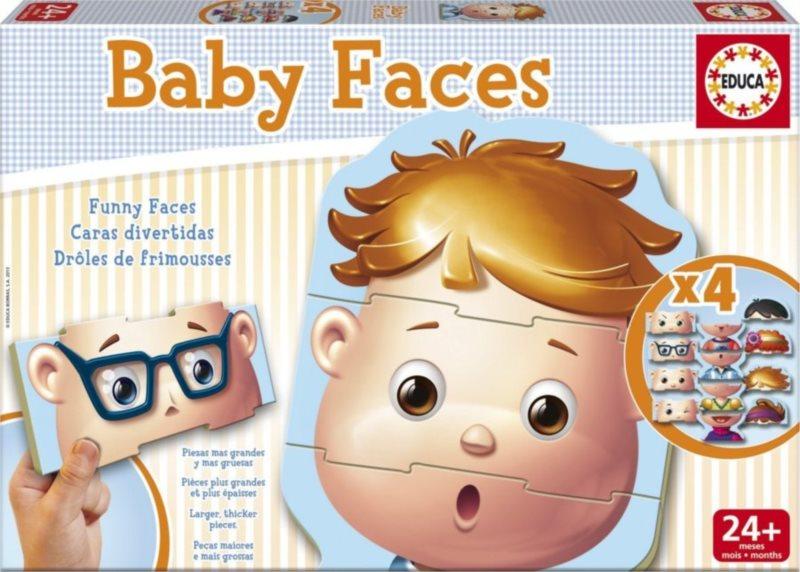 EDUCA Baby puzzle Obličeje