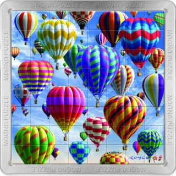 3D magnetické puzzle PIATNIK 64 dílků - Balóny