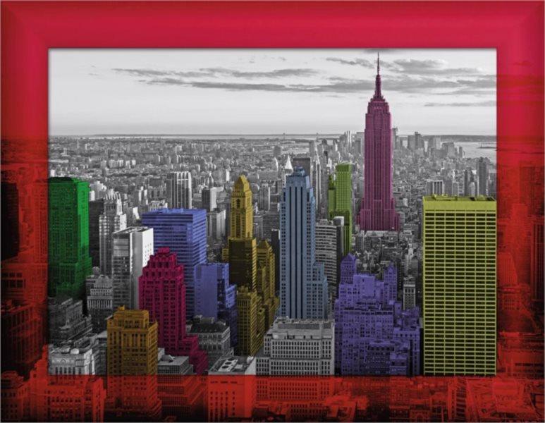 Puzzle RAVENSBURGER 500 dílků - Kompletní sada Barevný New York