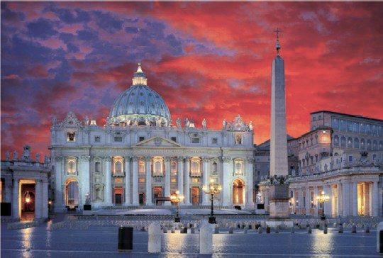 Puzzle TREFL 1000 dílků - Bazilika svatého Petra, Řím