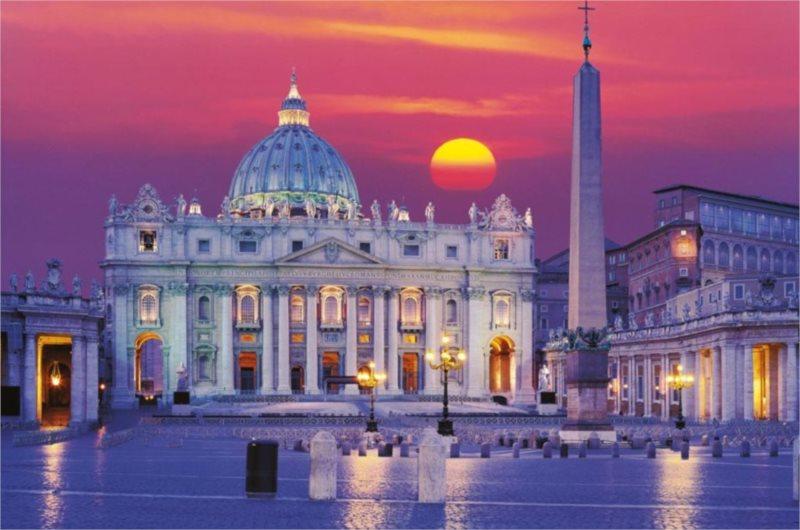 RAVENSBURGER Puzzle Bazilika svatého Petra, Řím 3000 dílků