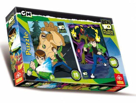 TREFL Puzzle Ben 10: Alien Force 70+100 dílků