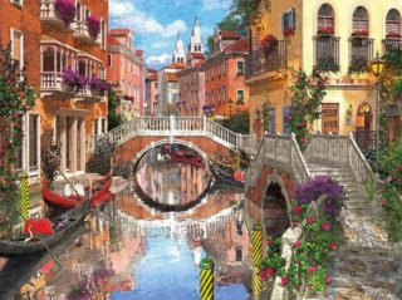 Puzzle CLEMENTONI 3000 dílků - Benátky